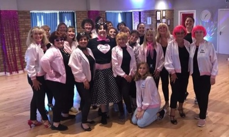 Grease Dance Party